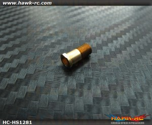 Hawk Creation Precise 450Size Tail Shaft Slide Bush (Threaded Sleeve)